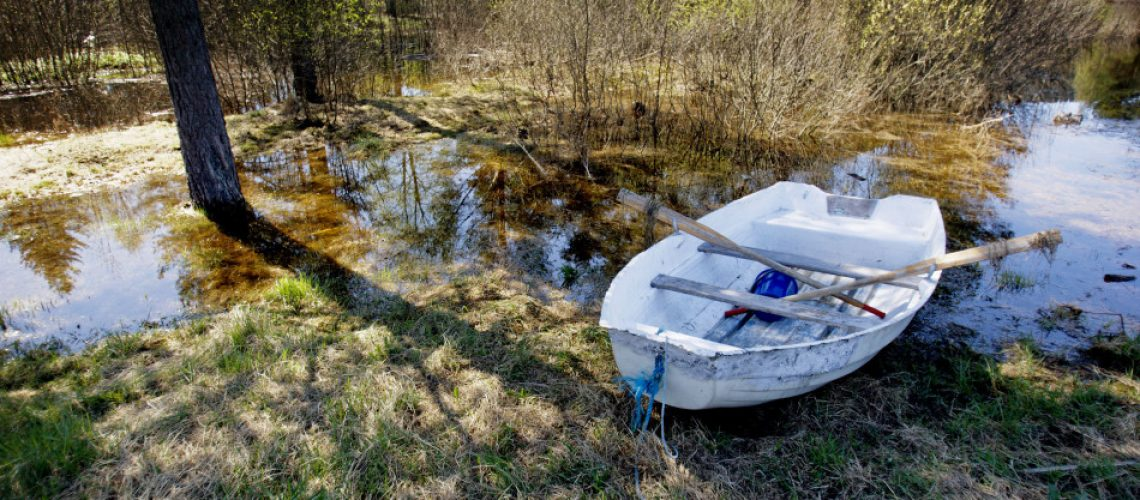 Gammel båt