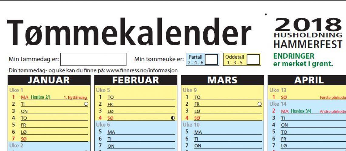 Ill. tømmekalender